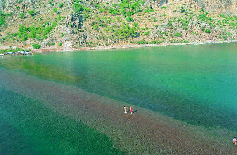Marmaris Kız Kumu plajı Selimiye Turu